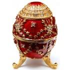 Кутийка за бижута - яйце на Фаберже