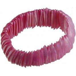 Красива гривна от цветни миди - седеф на ластична основа