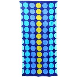 Плажна хавлия на цветни точки