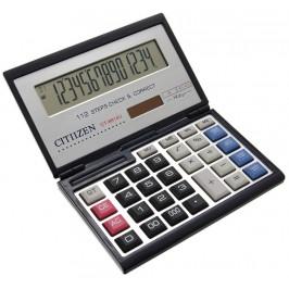 Елегантен електронен калкулатор с капак