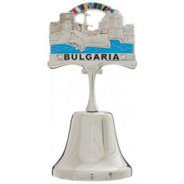 Сувенирна камбанка с магнит и декорация - морски мотиви