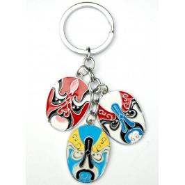 Сувенирен метален ключодържател - три маски