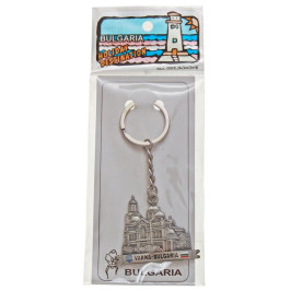 Сувенирен метален ключодържател - макет на Варненската катедрала