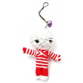 Аксесоар за GSM - вуду кукла, изработена от конци
