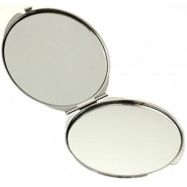 Сувенирно джобно огледало метал, декоративно капаче с холограма - изгледи от Несебър