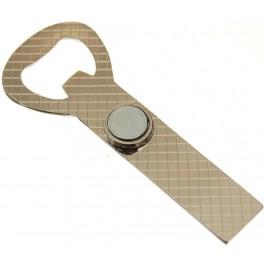 Сувенирна метална отварачка с магнит
