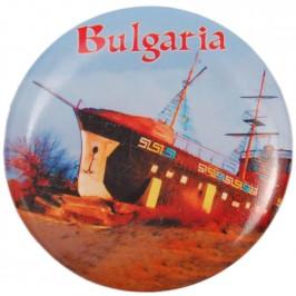 Сувенирна фигурка с магнит и отварачка - фрегата и надпис България