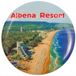 Сувенирна фигурка с магнит и отварачка - плажна ивица - Албена