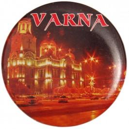 Сувенирна фигурка с магнит и отварачка - Варненската катедрала