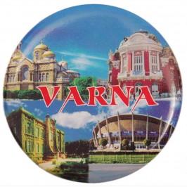 Сувенирна фигурка с магнит и отварачка - забележителности на Варна