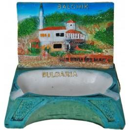 Сувенирен пепелник с релеф на двореца в Балчик