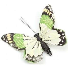 Декоративна фигурка пеперуда с PVC щипка