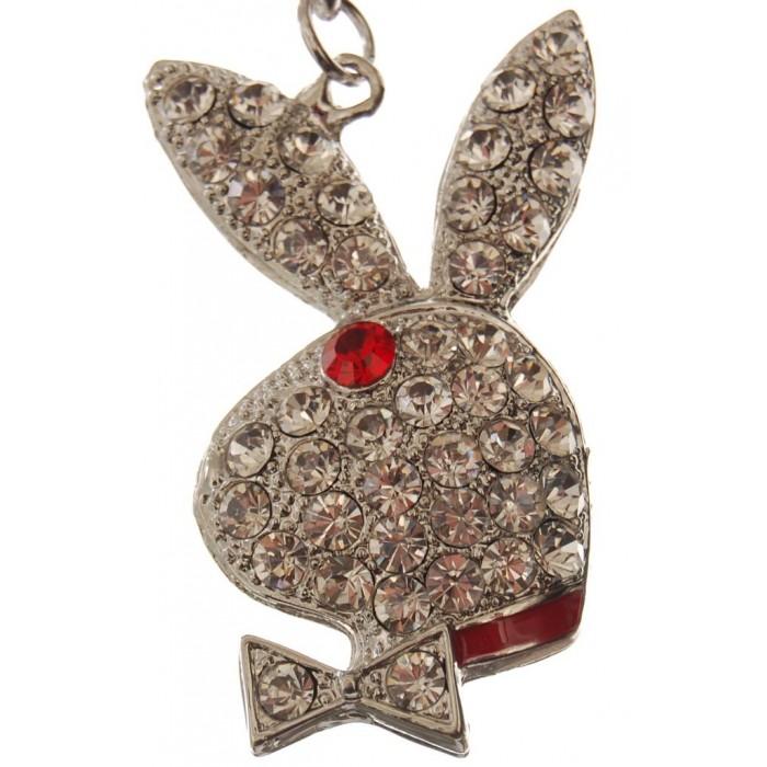 Сувенирен метален ключодържател - заек