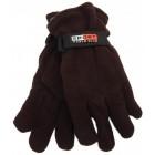 Мъжки поларени ръкавици с регулируема широчина на китката