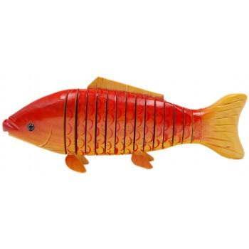 Сувенирна дървена фигурка - риба гъвкава
