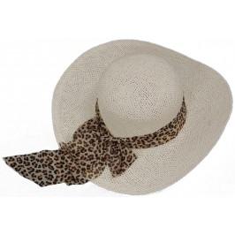 Лятна дамска плетена шапка с голяма периферия