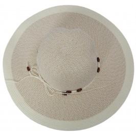 Лятна дамска шапка с голяма периферия