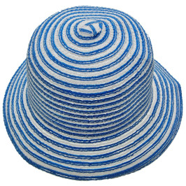 Лятна дамска сламена шапка с периферия