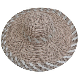 Лятна дамска сламена шапка с голяма периферия