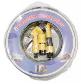 Градински маркуч с мултифункционален PVC накрайник за поливане