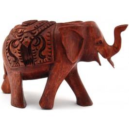 Сувенирна фигурка дърво - слон
