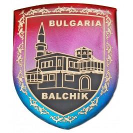 Сувенирна магнитна фигурка гравирана с двореца в Балчик