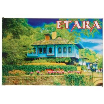 Сувенирна магнитна фигурка - Синята къща на Етъра