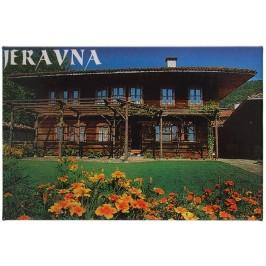 Сувенирна магнитна фигурка - българска старинна къща в Жеравна