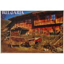 Сувенирна магнитна фигурка - българска старинна къща