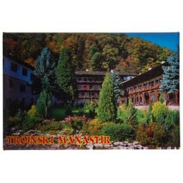 Сувенирна магнитна фигурка - Троянски манастир