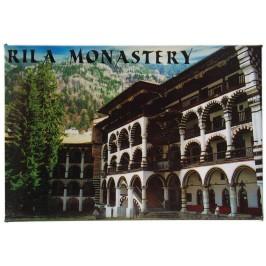 Сувенирна магнитна фигурка - Рилски манастир