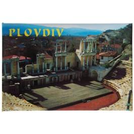 Сувенирна магнитна фигурка - Античният театър в Пловдив