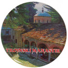 Сувенирна фигурка с магнит и отварачка - Троянски манастир