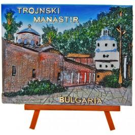 Декоративна релефна фигурка - Троянски манастир