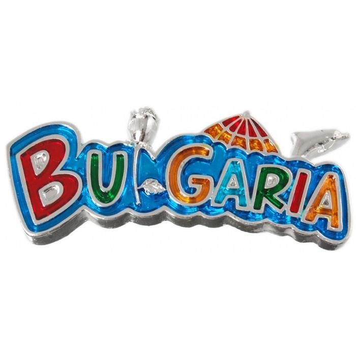 Декоративна фигурка с магнит - България
