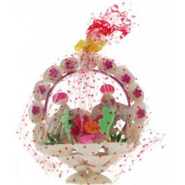 Декоративна фигурка изцяло направена от миди