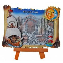 Декоративна фигурка - митрополията в Несебър