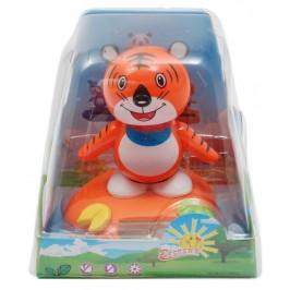 Декоративна танцуваща фигурка - тигъре, изработена от пластмаса