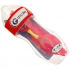Очила за плуване в комплект с тапи за уши, изработени от PVC материал и силикон