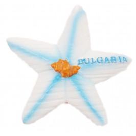 Декоративна фигурка с магнит - морска звезда с надпис България