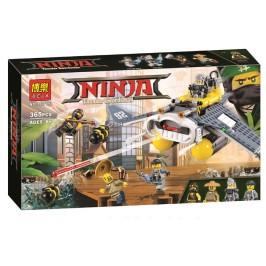 Конструктор 365 части - Нинджа самолет бомбардировач