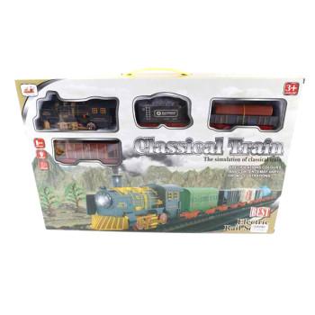 Класическо влакче с релси и 3 вагона