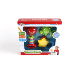 Комплект от 3бр. пластмасови бебешки дрънкалки