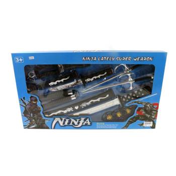 Комплект оръжия на черната нинжа