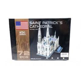 """3D пъзел от 72 части -  """"Свети Патрик"""""""