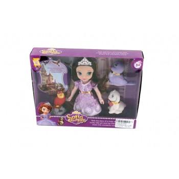 Кукла - принцеса София първа и приятели