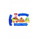 Детска играчка Цирково музикално влакче с релси