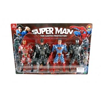 Комплект супер герой - Защитниците на земята.
