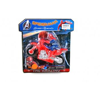 Детска играчка - Спайдърмен на мотор