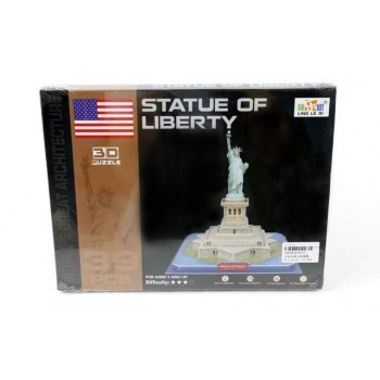 """3D пъзел от 39 части -  """"Статуята на свободата"""""""